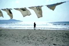 海と空とTシャツと