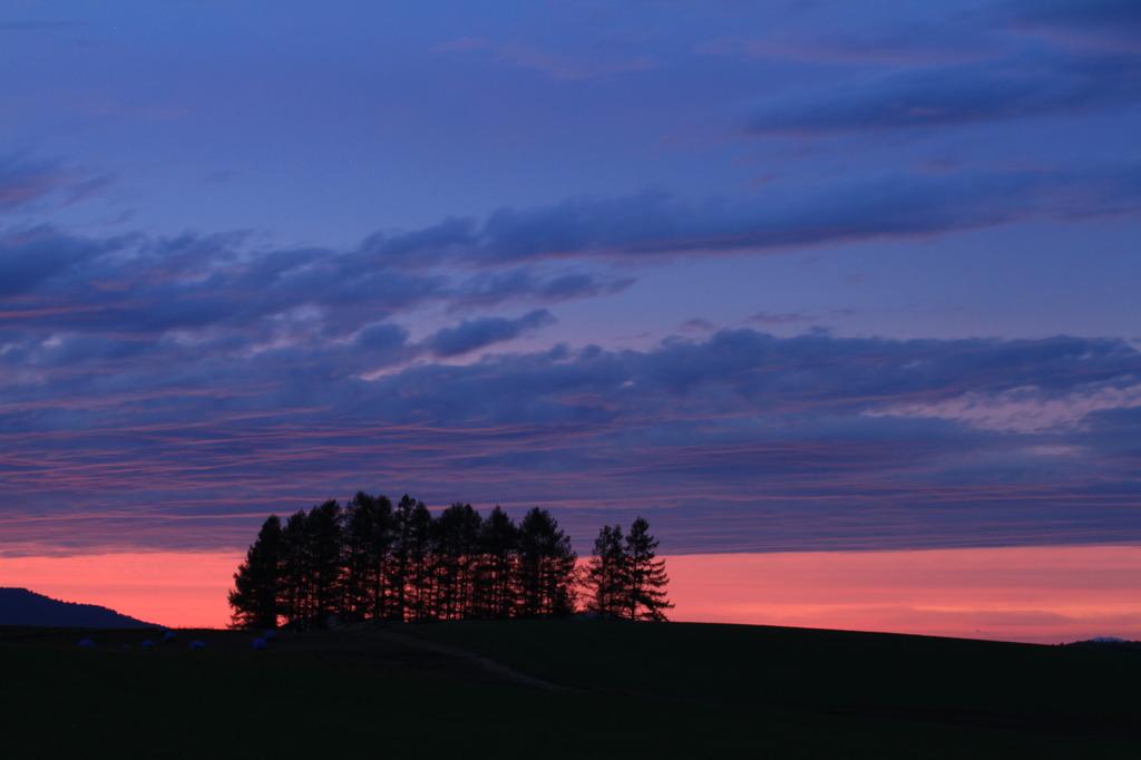 初秋の夕暮れ