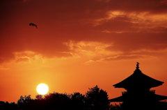 鞆の浦の朝日