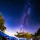天の川と琵琶湖でのひと時