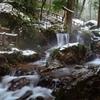 名水百選~瓜割の滝