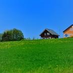 NIKON NIKON D90で撮影した風景(富良野の春)の写真(画像)