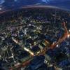 サンシャイン60展望台からの夕景