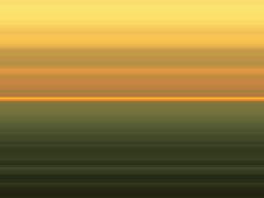 六本木から見た夕日