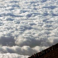 PANASONIC DMC-GH1で撮影した風景(天空の人々)の写真(画像)