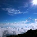 PANASONIC DMC-GH1で撮影した風景(空へ)の写真(画像)