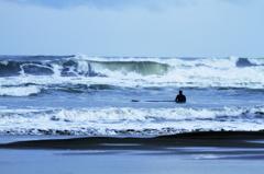 一人だけの海