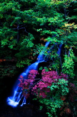 恵庭 三段の滝