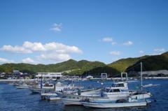 漁船たちの休日