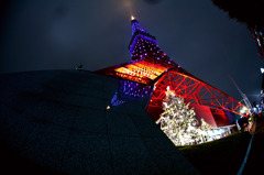 Happy Christmas in Tokyo Tower!!
