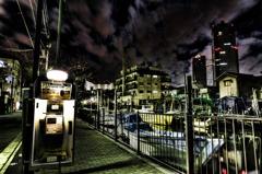 都会の波止場