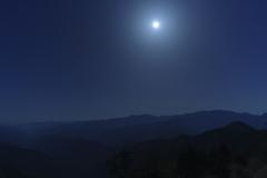 月照の奥駈