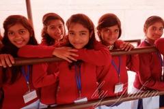 インドの少女たち