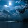 支笏湖 野営の灯り