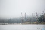 朱鞠内湖にて