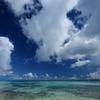 青い海、広い空