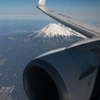 18000ftからの名峰