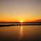 東京湾の夕陽 2