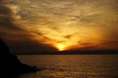 日本海 13(サブタイトル・・佐渡に消える夕陽)