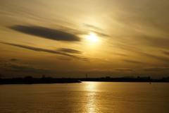 東京湾の夕景 10