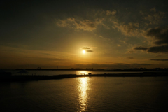 東京湾の夕景 9