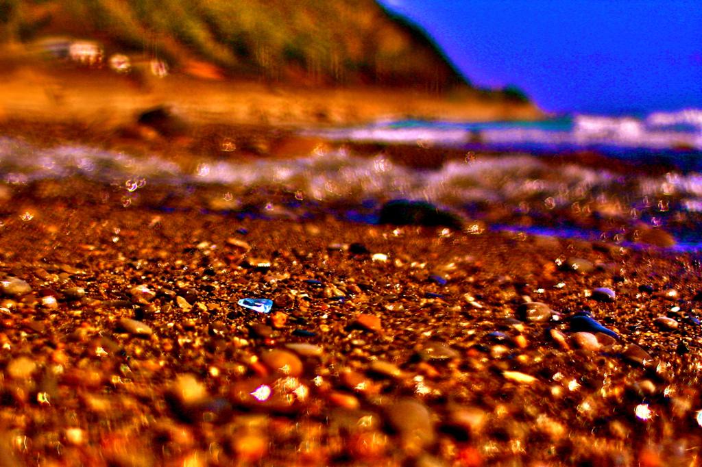 浜辺の宝石
