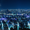 Night View of Mandarin Oriental Tokyo