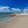 野間灯台と海