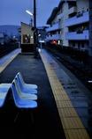 三ヶ日駅のベンチ