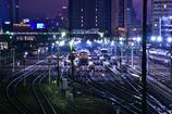 向野橋からの鉄道夜景