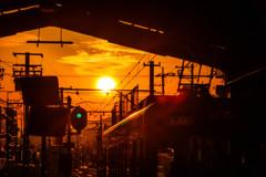 Sunset station 3