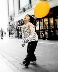 風船とダンス