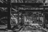 地下の施工ヤード