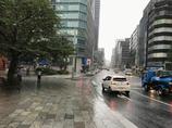 遅れて梅雨空