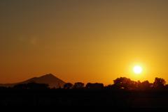 赤城と朝陽