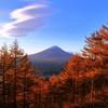 吊るしと富士と深まる秋