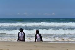 二回目の砂浜