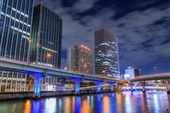 堂島川夜景...2