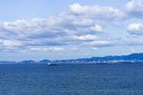 神戸港を臨む