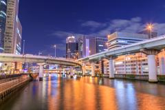 堂島川夜景...3