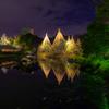 夜の白鳥庭園