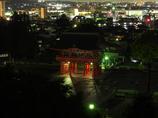 犬山成田山から見た夜景