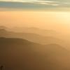 安曇野の峰