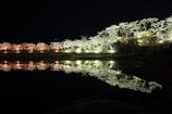 湖畔の春夜