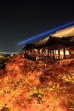燃え上がる京の舞台
