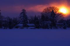 雪村暮れる