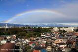 大空を跨ぐ虹