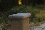 石のベンチ(^_^)