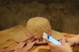 妻と麦わら帽子