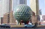 球形のオブジェ 友好広場